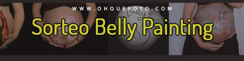 belly painting - Sorteo Belly Painting de embarazada en Córdoba