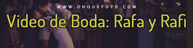 video rafa y rafi - Boda de Rafa y Rafi en el Castillo de La Albaida (Córdoba)