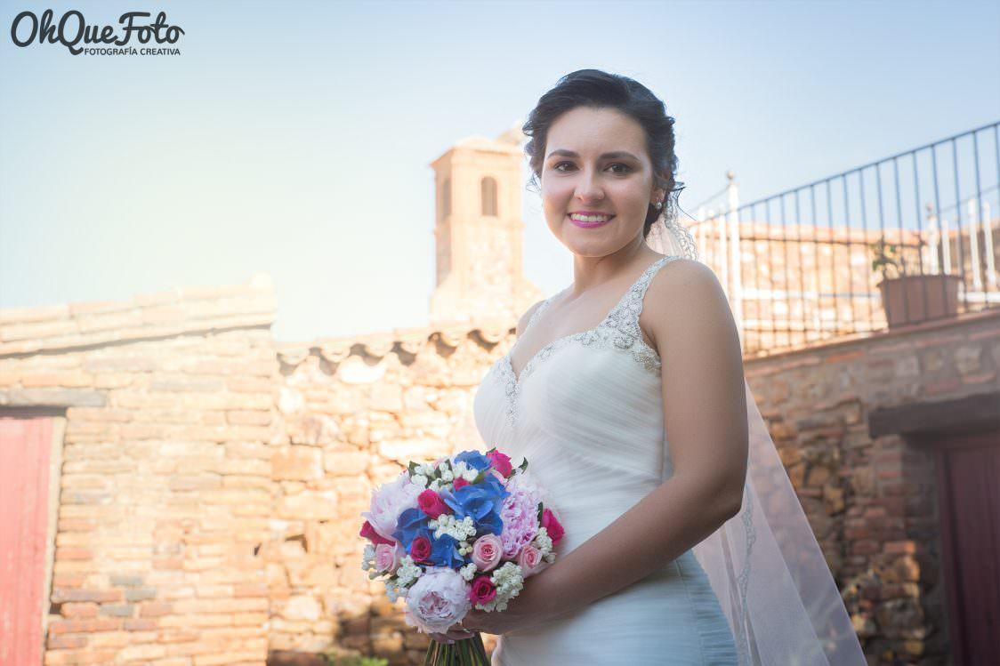 Reportaje de boda en Almaden – Ciudad Real – OhQueFoto – Hotel Condes Fúcares – Fotografo de bodas Córdoba - Bárbara y Juan - La Peraleda