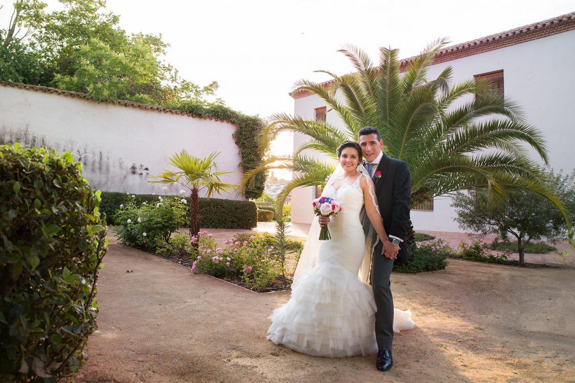 Boda de Bárbara y Juan en Hospital de Mineros (Almadén)