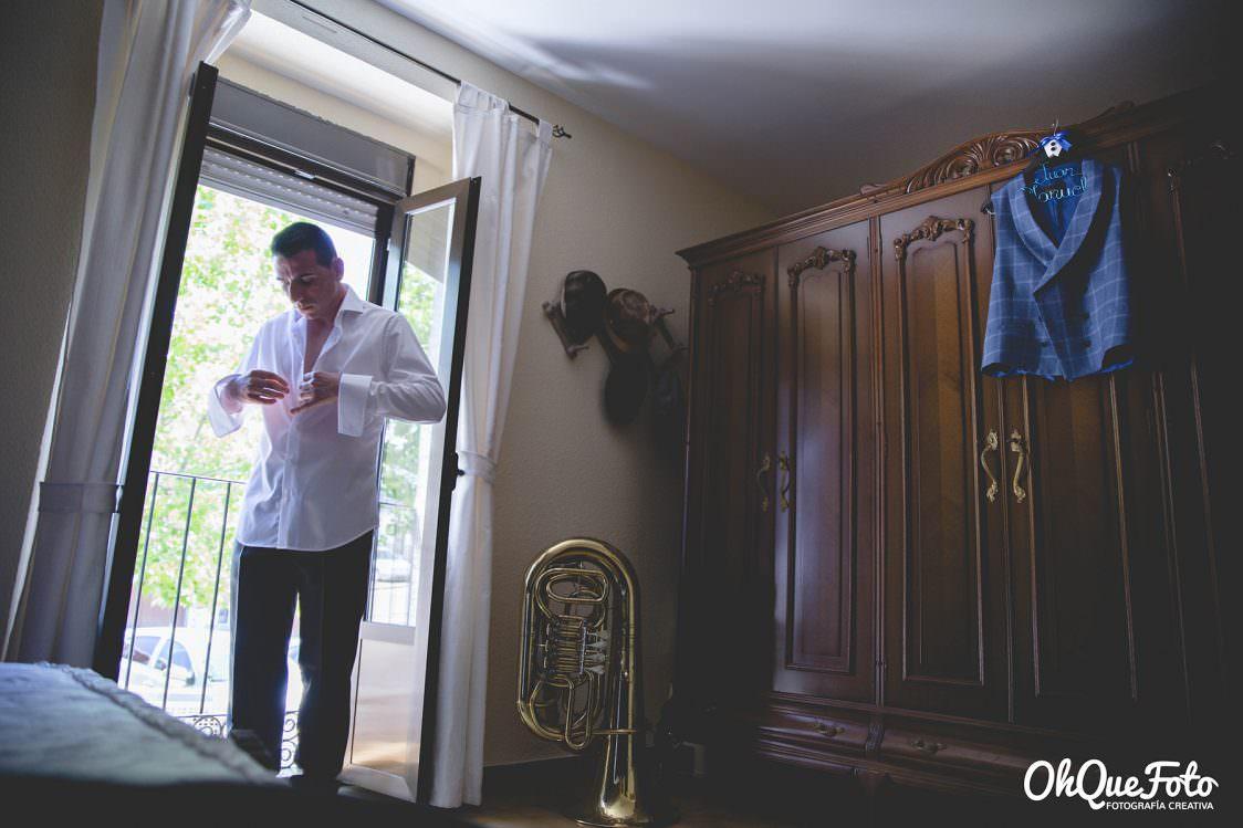 La boda de película de Bárbara y Juan en Almadén en Almadén (Ciudad Real) – La Peraleda - Hotel Condes Fúcares - Hospital de Mineros - OhQueFoto – Fotografo de bodas Córdoba