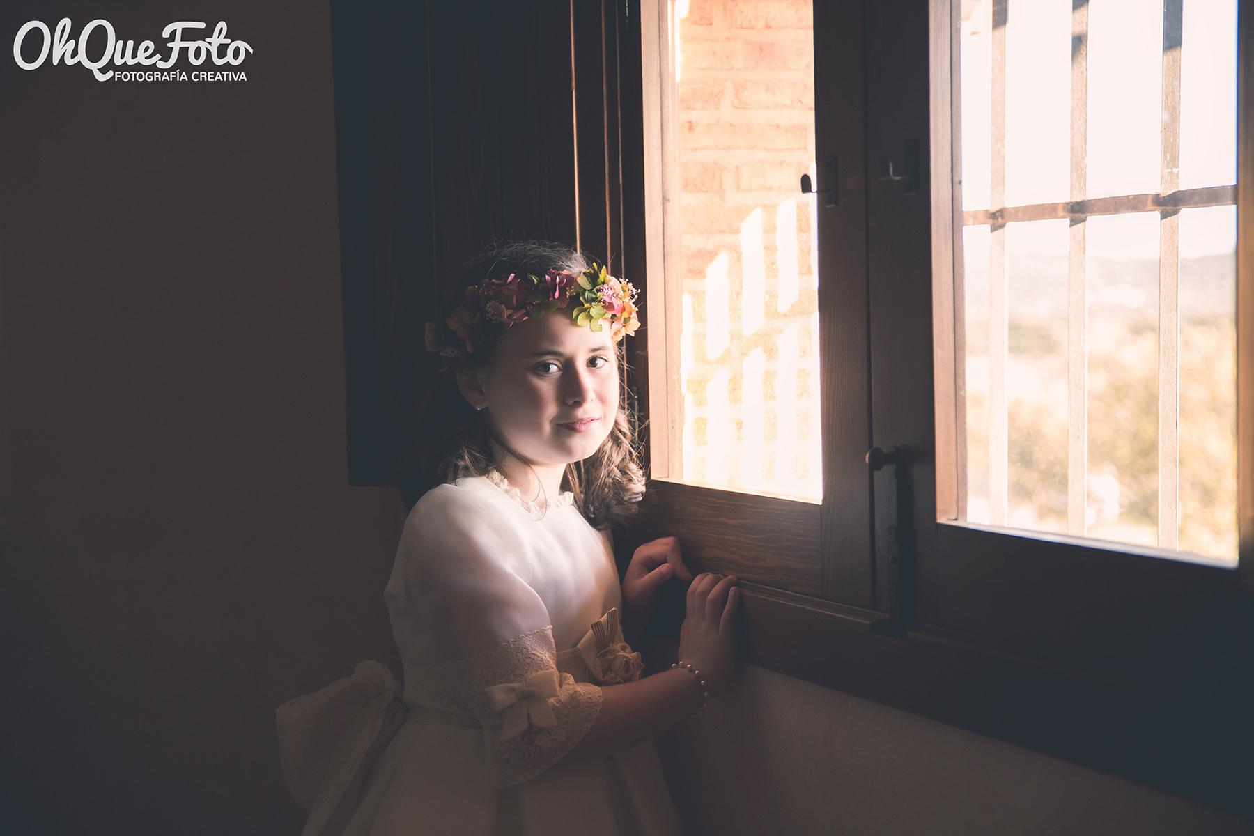 Carlota - Reportaje de comunión en Chillón (Ciudad Real)