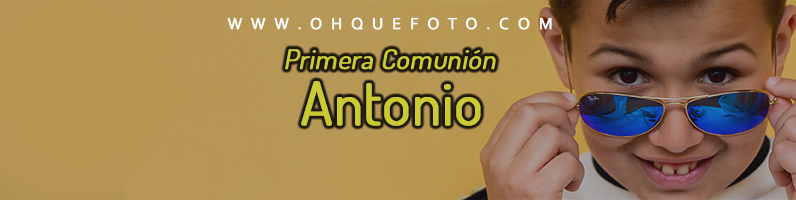 imagen destacada COMUNION antonio - Antonio - Reportaje de comunión en la Mezquita de Córdoba