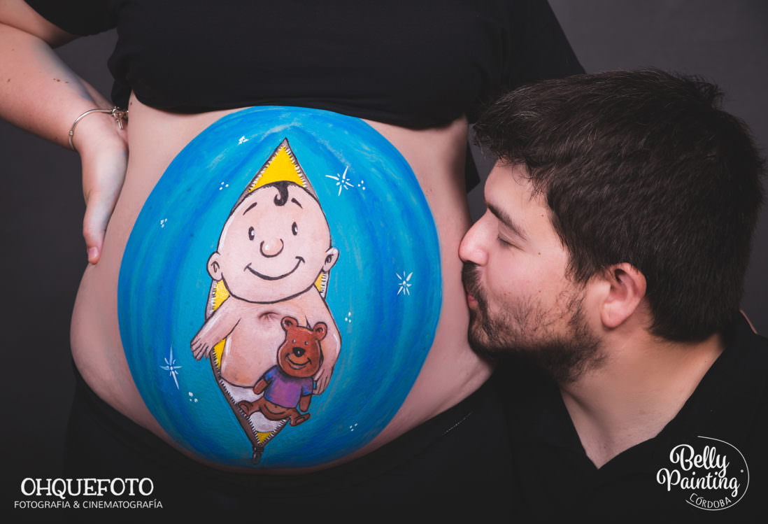 belly painting cordoba
