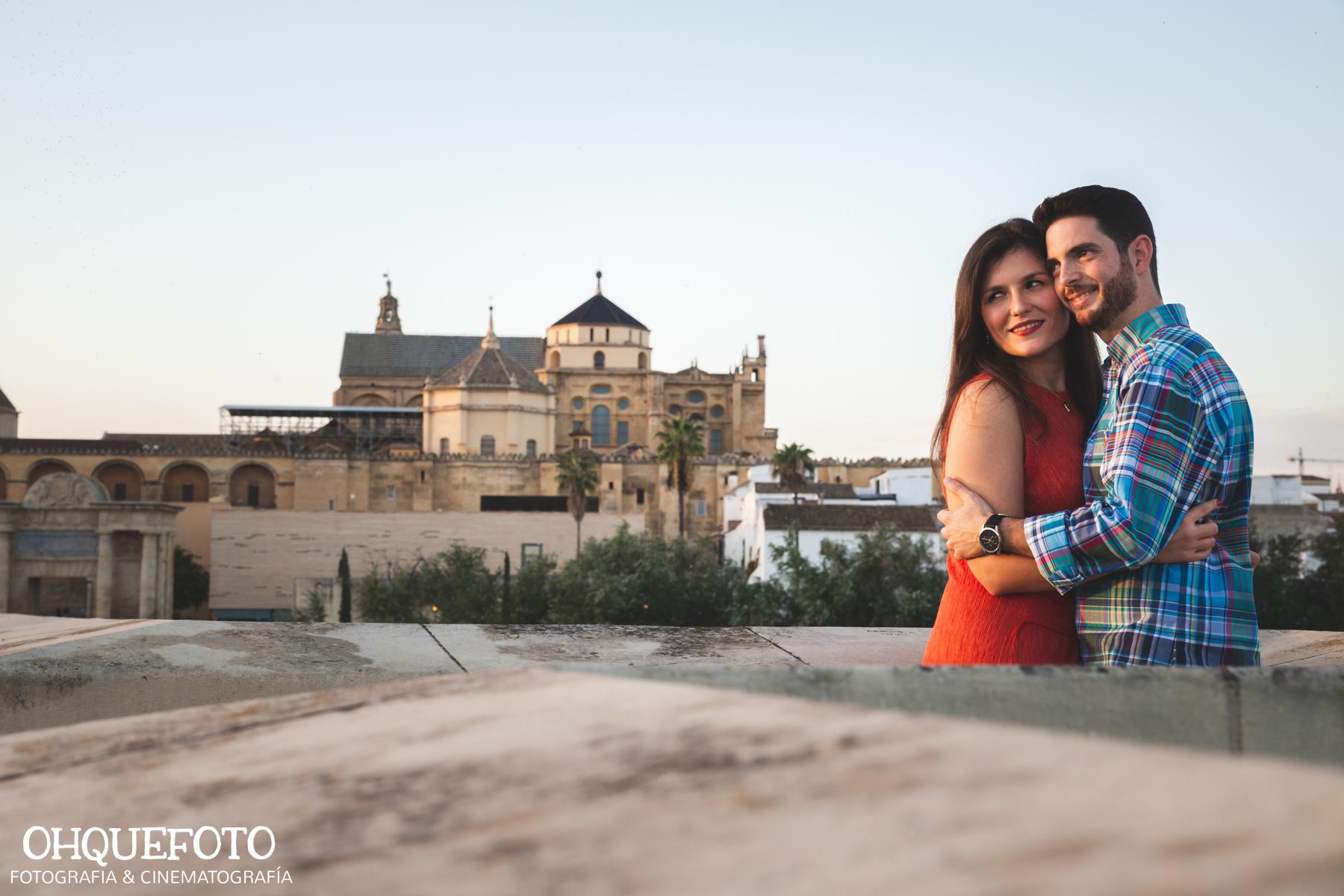 preboda en Córdoba de Roberto y Ana Belén