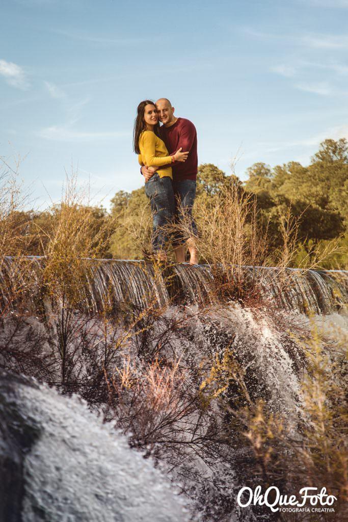 Fotografía en cascada