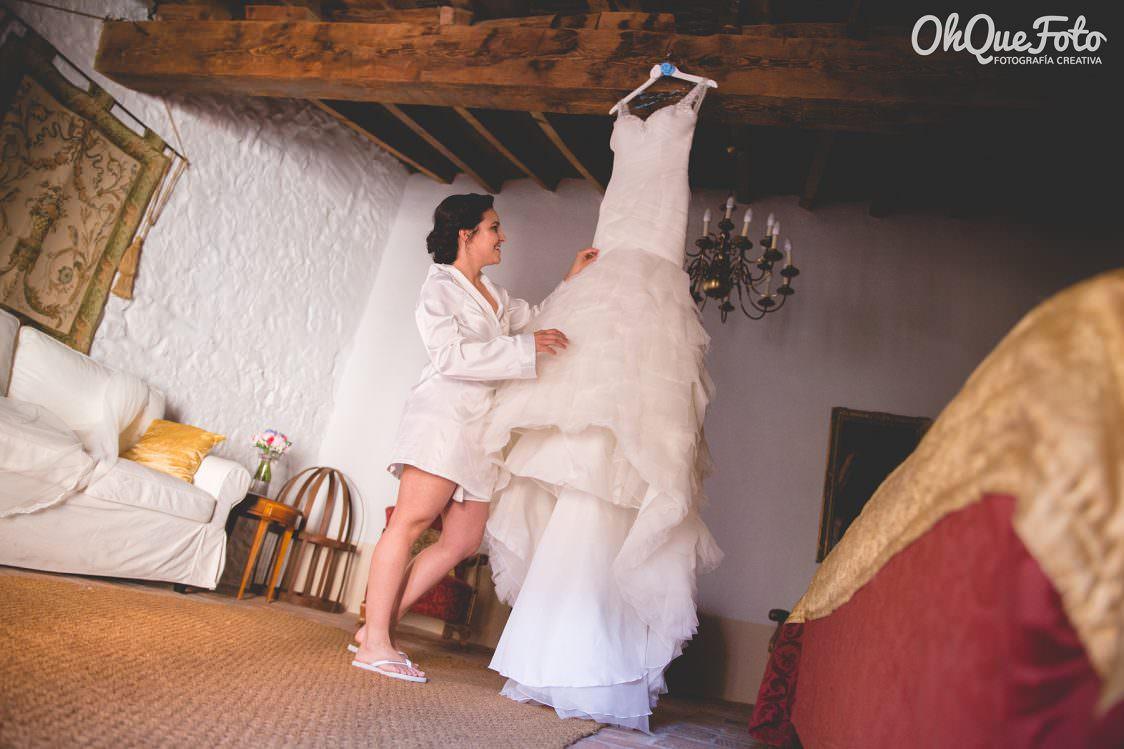 Vestido de novia de La Sposa - Boda en Almadén - Bárbara y Juan