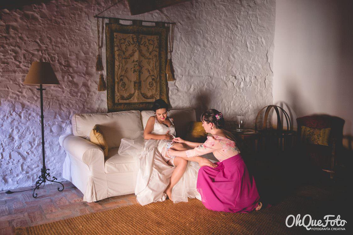 Reportaje de boda en Almadén (Ciudad Real) - OhQueFoto - Hotel Condes Fúcares