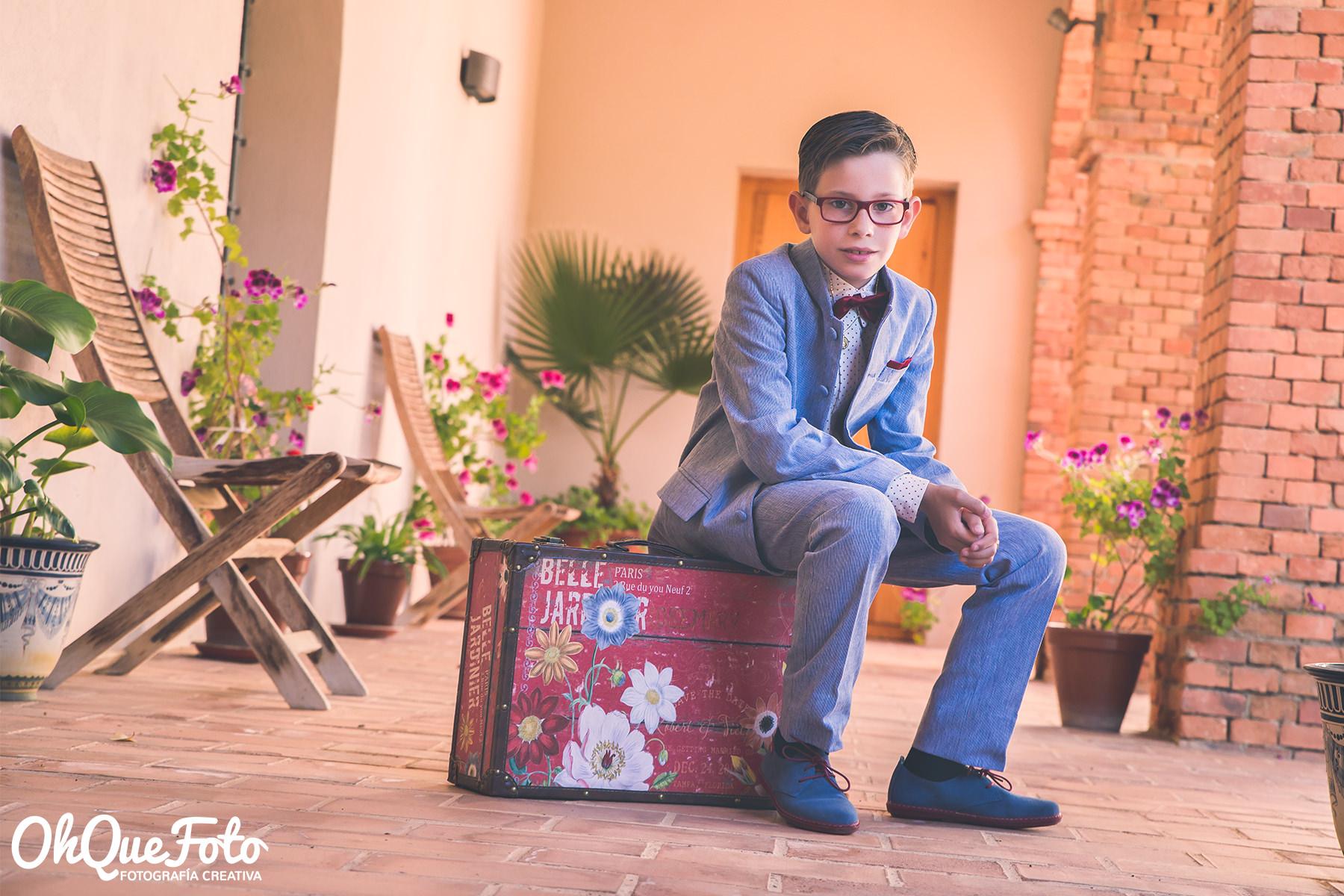 Comunión de Vicente enAlmadén en elHospital de Mineros