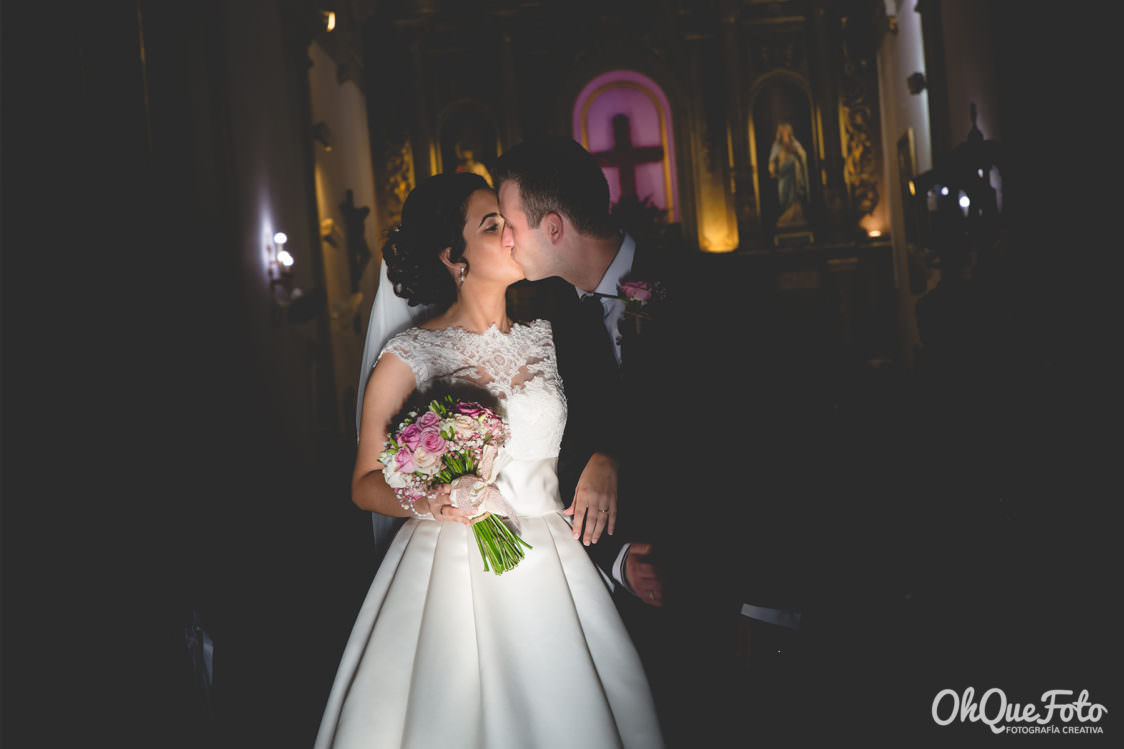 Boda en Almaden - Complejo Príncipe de España - Ohquefoto - Rocío y Jose - Iglesia de Nuestra Señora de la Estrella